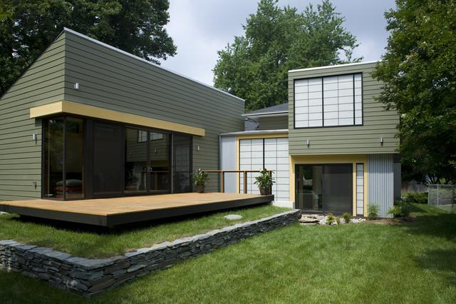 fifties split modern-exterior
