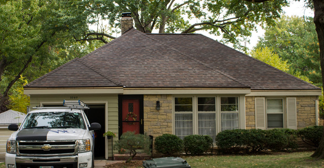 Finished Roofs 2013 Traditional Exterior Omaha
