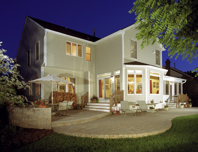Finkelstein - Family Room and Bedroom Addition traditional-exterior