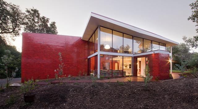 Finn House Contemporary Exterior Melbourne By