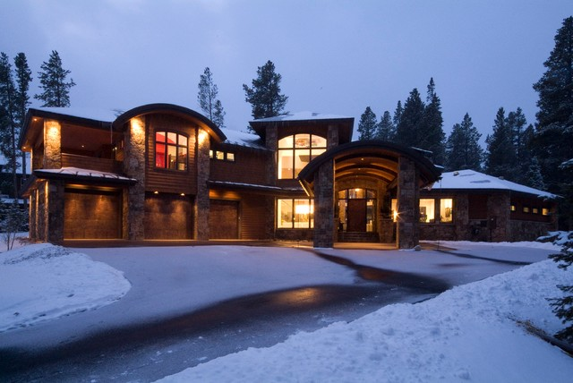 Fire and Ice contemporary-exterior