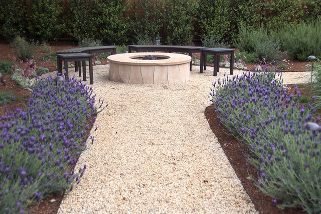 Fire pit mediterranean exterior san francisco by for Verdance landscape design