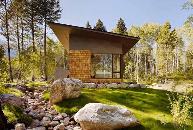 Fish Creek Compound Guest House contemporary-exterior