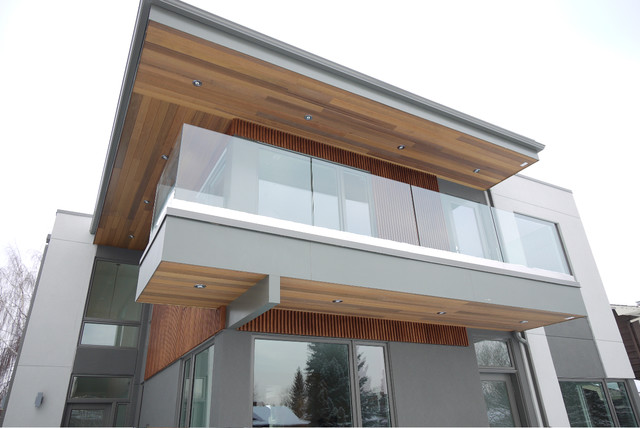 Fish Creek House Modern Exterior Calgary By Alloy