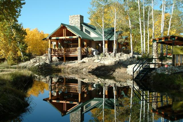 Fishing Camp craftsman-exterior