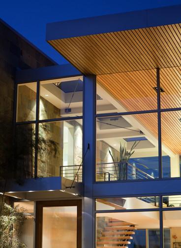 Fitzsimons-Roman Residence contemporary