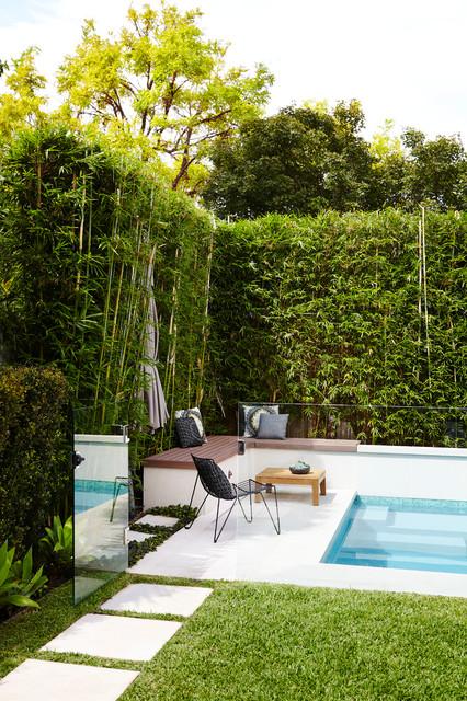 Five dock contemporary exterior sydney by harrison for Landscape design sydney