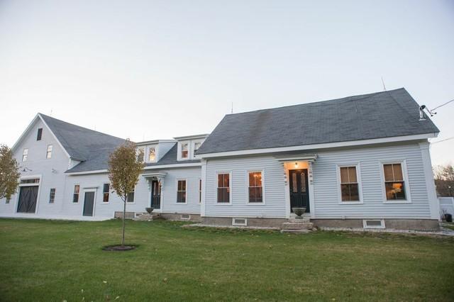 Flanagan Farm Portland Maine farmhouse-exterior