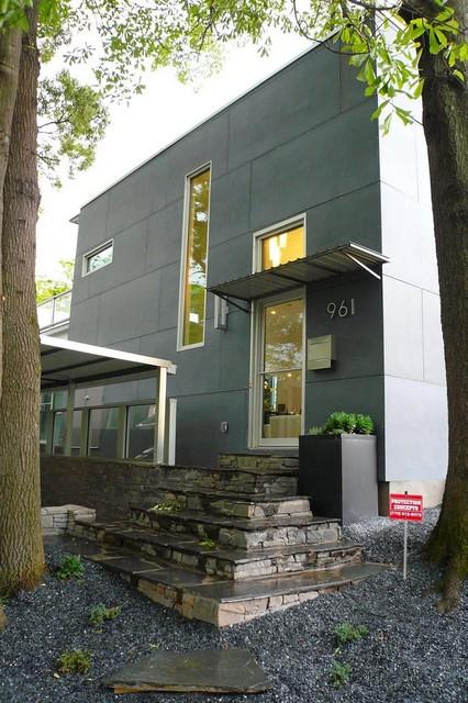 Flat Shoals Kitchen modern-exterior