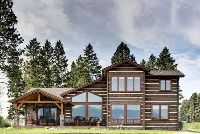 Flathead Montana Residence Rustic Exterior Other