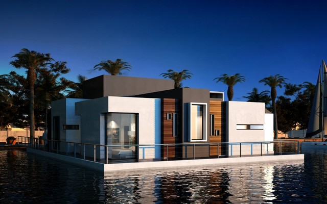 Floating Villa Modern Exterior Other By United