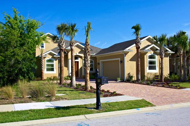 Florida Green Home - Palm Coast, FL traditional-exterior
