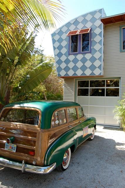 Florida Home eclectic-exterior