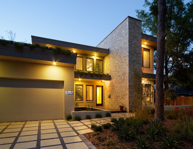 Florida Sustainable Home Modern Exterior Orlando