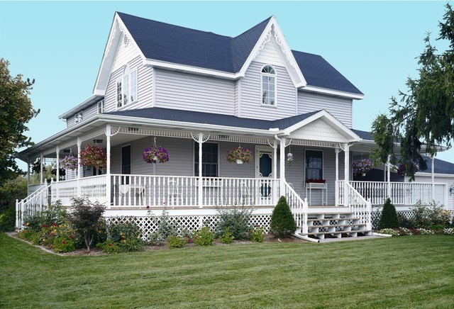 Folk Victorian Built With Vinyl Siding Traditional Exterior Dc