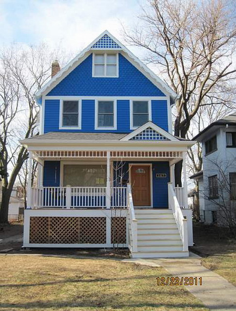 Folk Victorian Traditional Exterior Chicago By Elevations Airoom