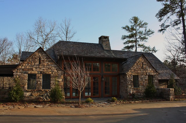 Foothills Cottage traditional-exterior