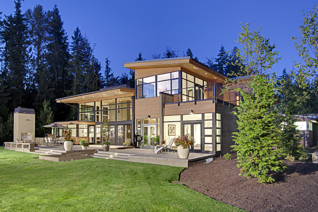 Forest House Exterior