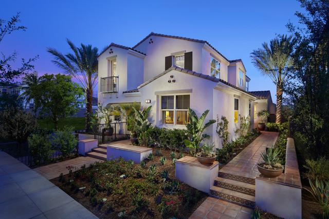 Forester Plan at Meritage Homes at Sendero | Rancho Mission Viejo, CA mediterranean-exterior
