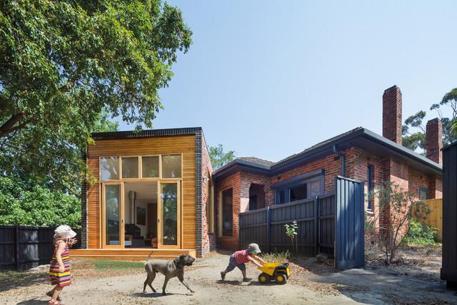 Forever House Extension & Backyard  Modern  Exterior  melbourne