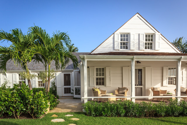 Fort Point Cottage Harbour Island The Bahamas Tropical Exterior