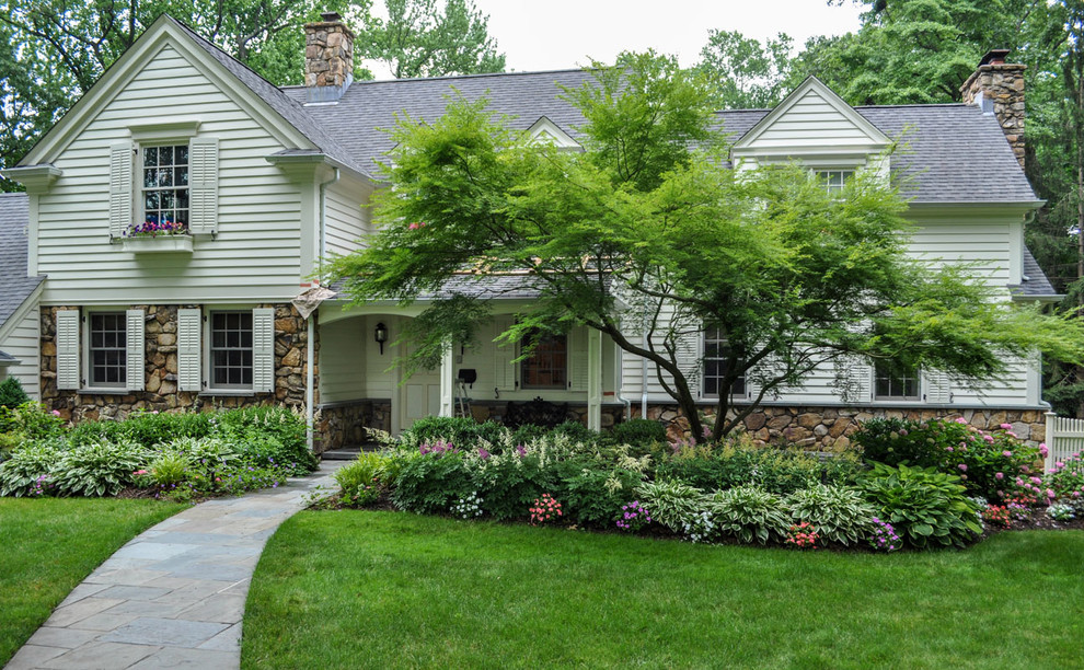 Foundation Plantings Traditional Exterior New York By Clc