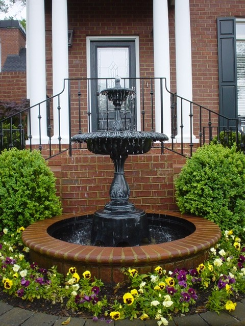 Fountain bird bath traditional exterior other by for Landscape architects bath