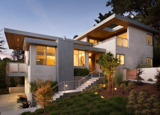 Mill valley ca residence remodel contemporary for Mill valley architects