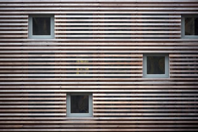 Four Gables contemporary-exterior