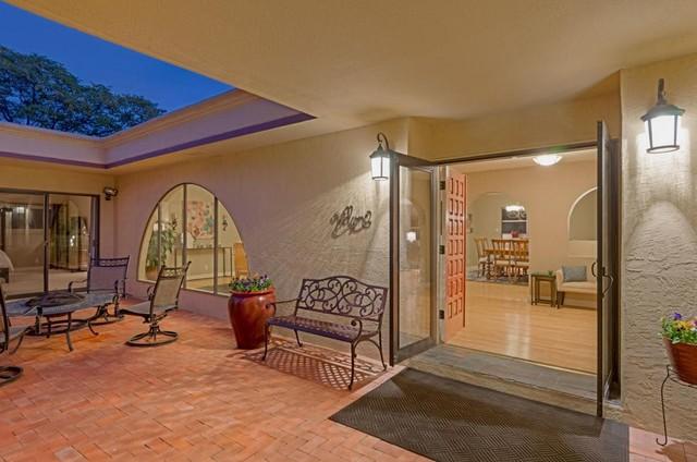 Four Hills Estate Transitional Exterior Albuquerque