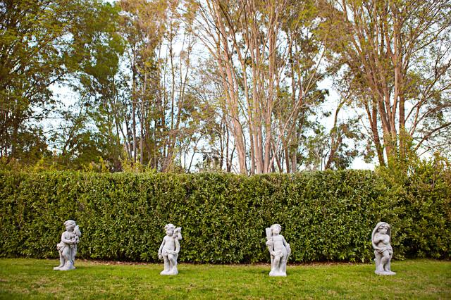 Four Seasons Cherubs Statues Traditional Exterior