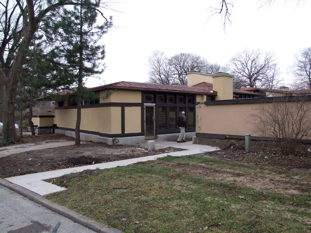 Frank lloyd wright avery coonely house craftsman for Frank lloyd wright craftsman