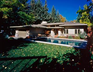 Frank Lloyd Wright Prairie School Oak Park Style
