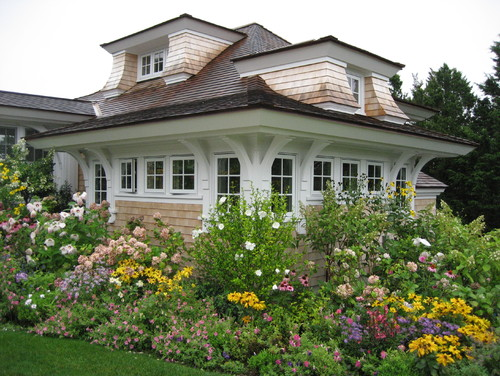 French Cottage Garden Design french cottage garden design Traditional Exterior By Boston Architects Designers Meyer Meyer Inc
