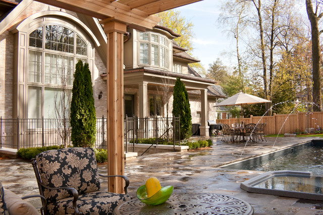 French chateau traditional exterior toronto by for French chateau exterior design