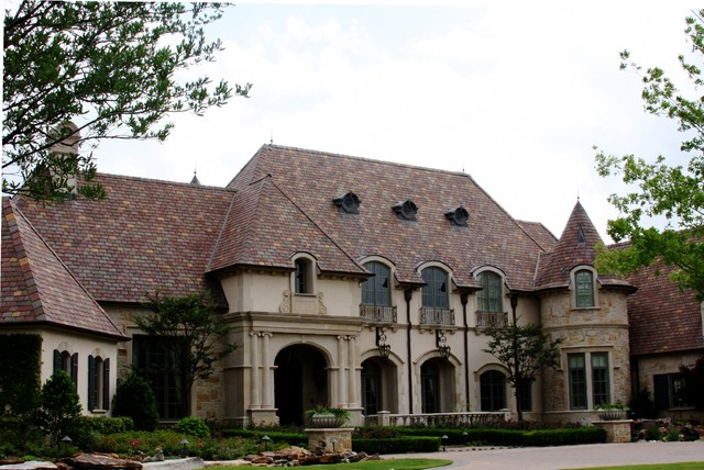 French chateau traditional exterior dallas by for French chateau exterior design