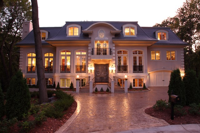 French chateau traditional exterior minneapolis by for French chateau exterior design