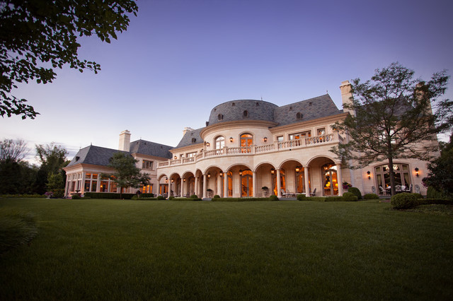 French chateau inspired le grand reve mansion of the north for Luxury french real estate