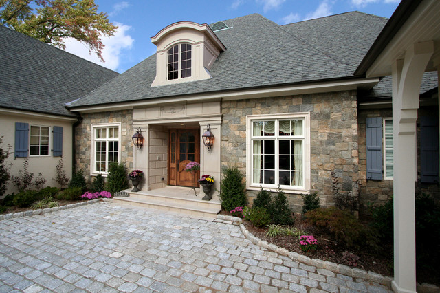 French chateau traditional exterior new york by for French chateau style homes for sale