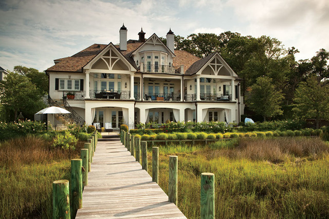 French chateau traditional exterior santa barbara for French chateau exterior design