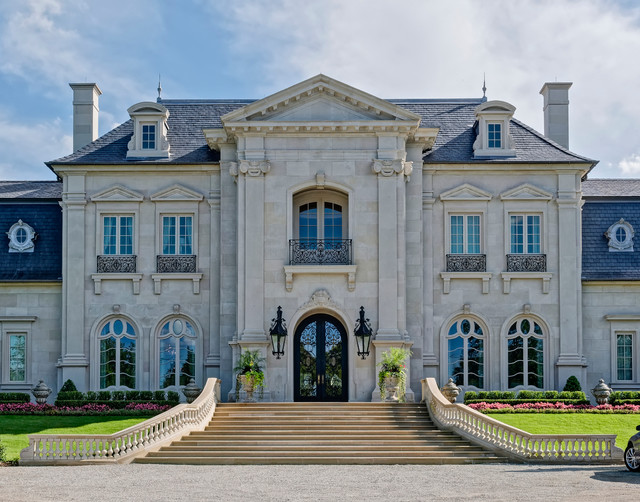 French Classical House In Dallas Tx