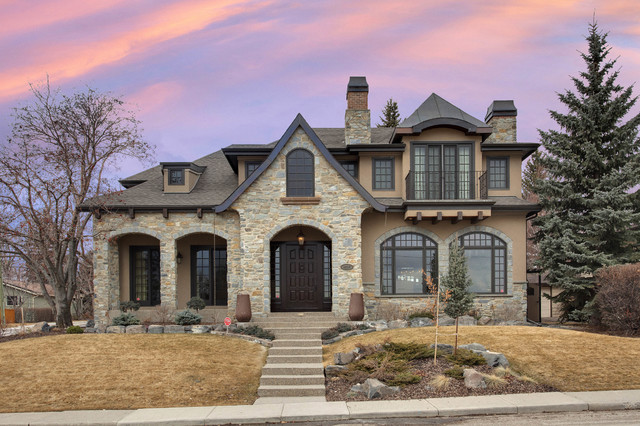 French country 2 traditional exterior calgary by for French country design exterior