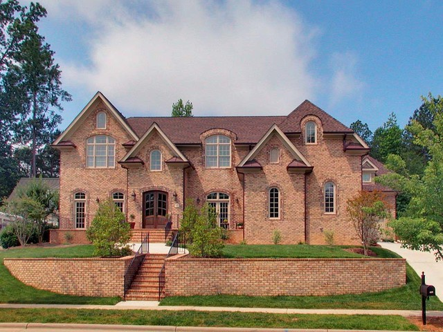 French Country Traditional Exterior Raleigh By