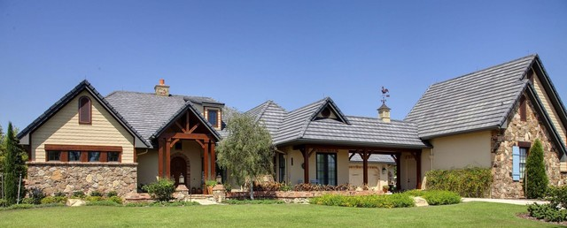 French Country Elevation