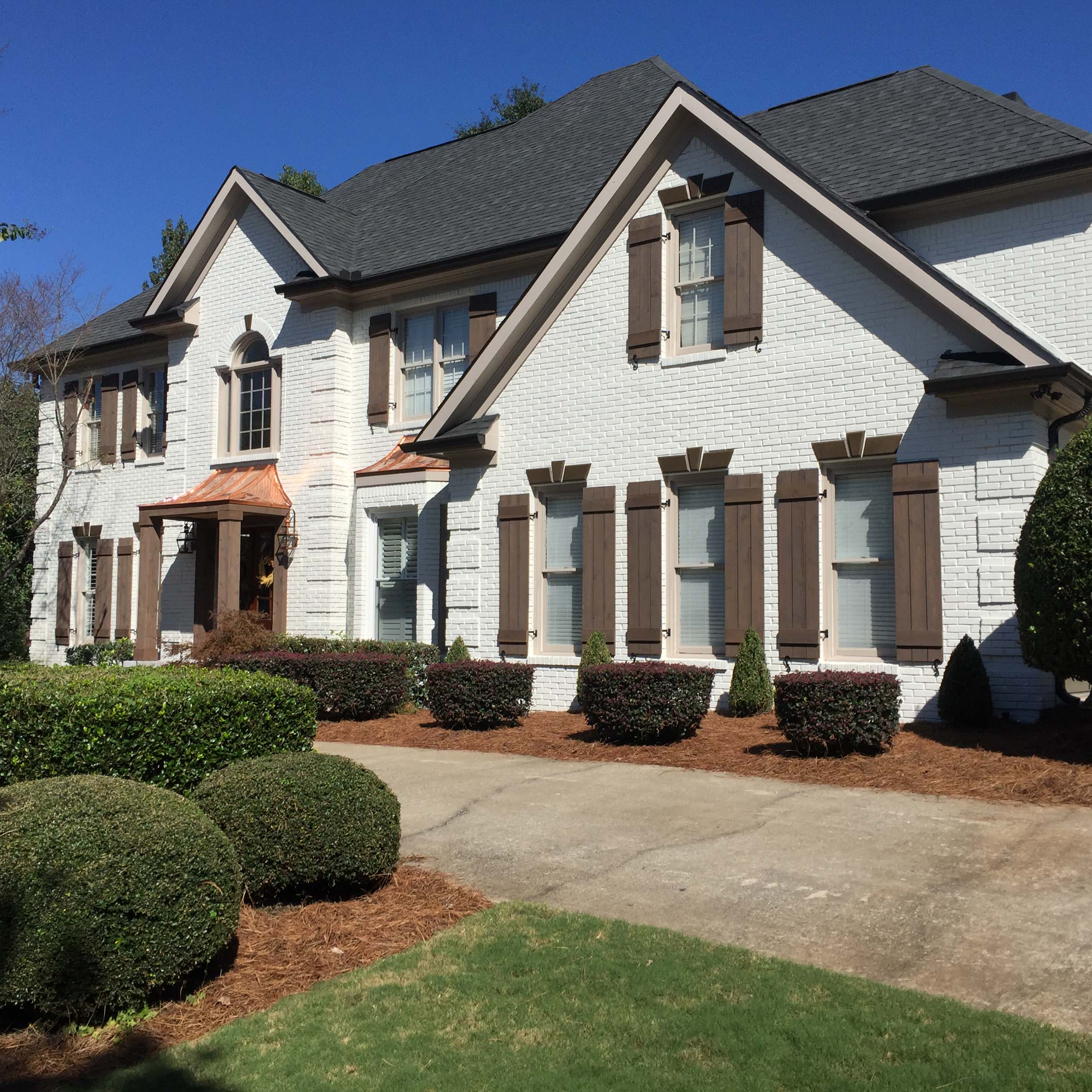 French Country Exterior Face Lift