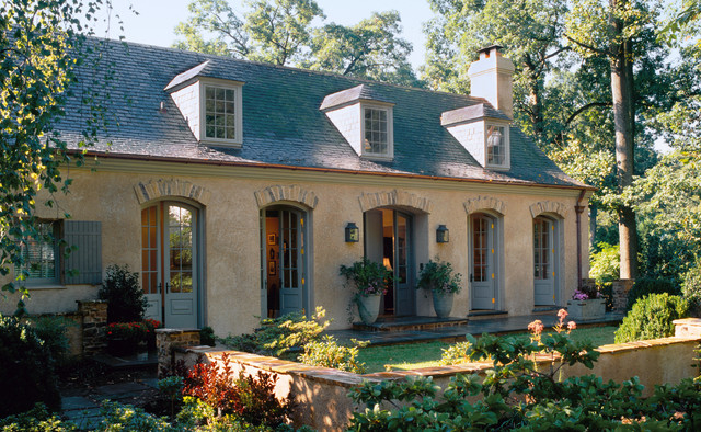 French Country Home Farmhouse Exterior