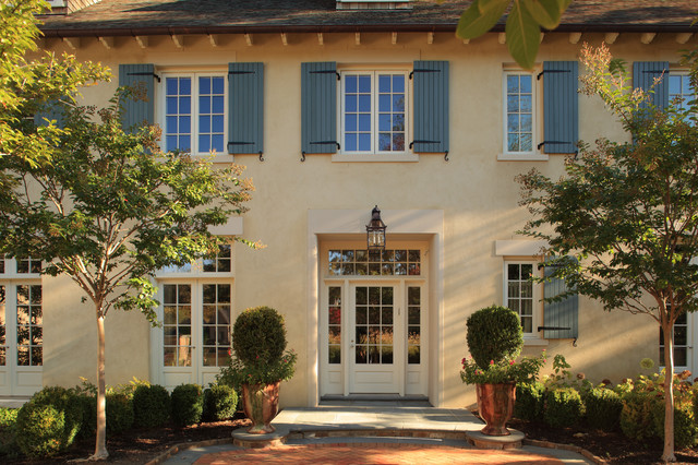 French Country Home Mediterranean Exterior Dc Metro