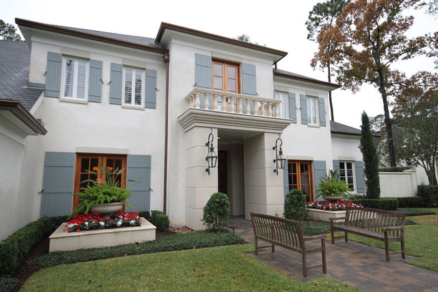 French country home traditional exterior houston for French country homes exterior