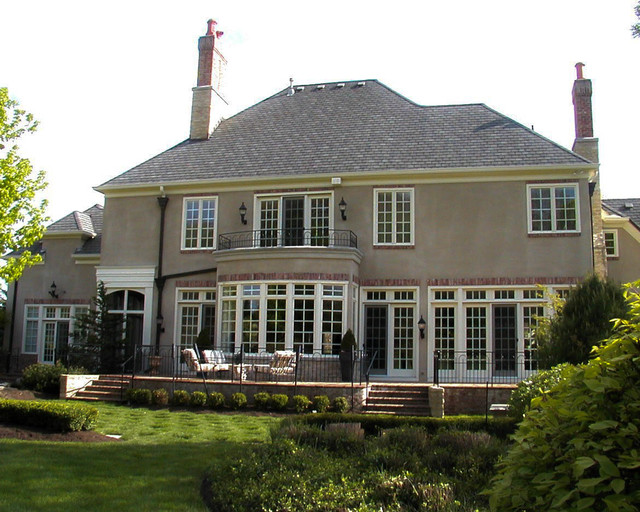 French Country Manor traditional-exterior