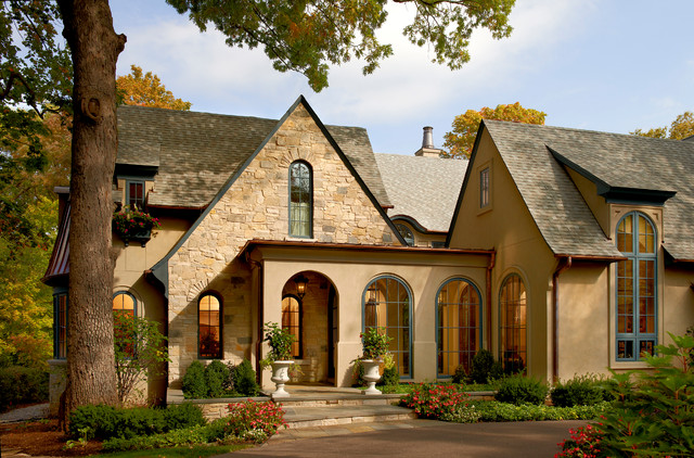 French Country Naperville Il Traditional Exterior